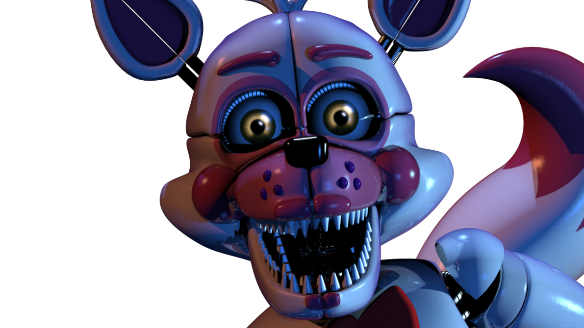 Foxy transparent jumpscare. Which sister location character