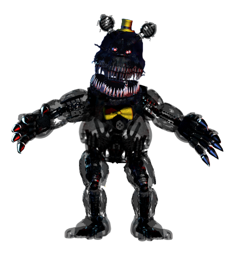 Transparent fnaf thank you. Nightmare full body image