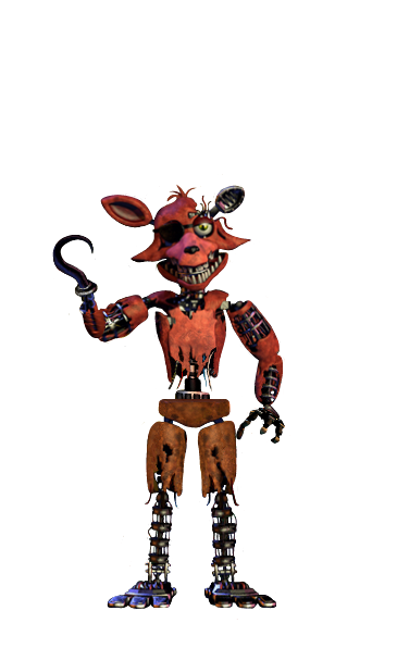 Foxy transparent withered. Image full body thank