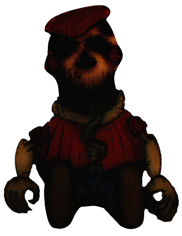Transparent fnaf thank you. Nightmare bb for collab