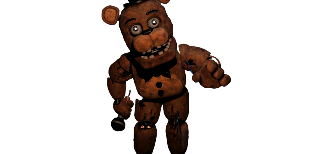 Transparent fnaf withered. Freddy slender fortress non