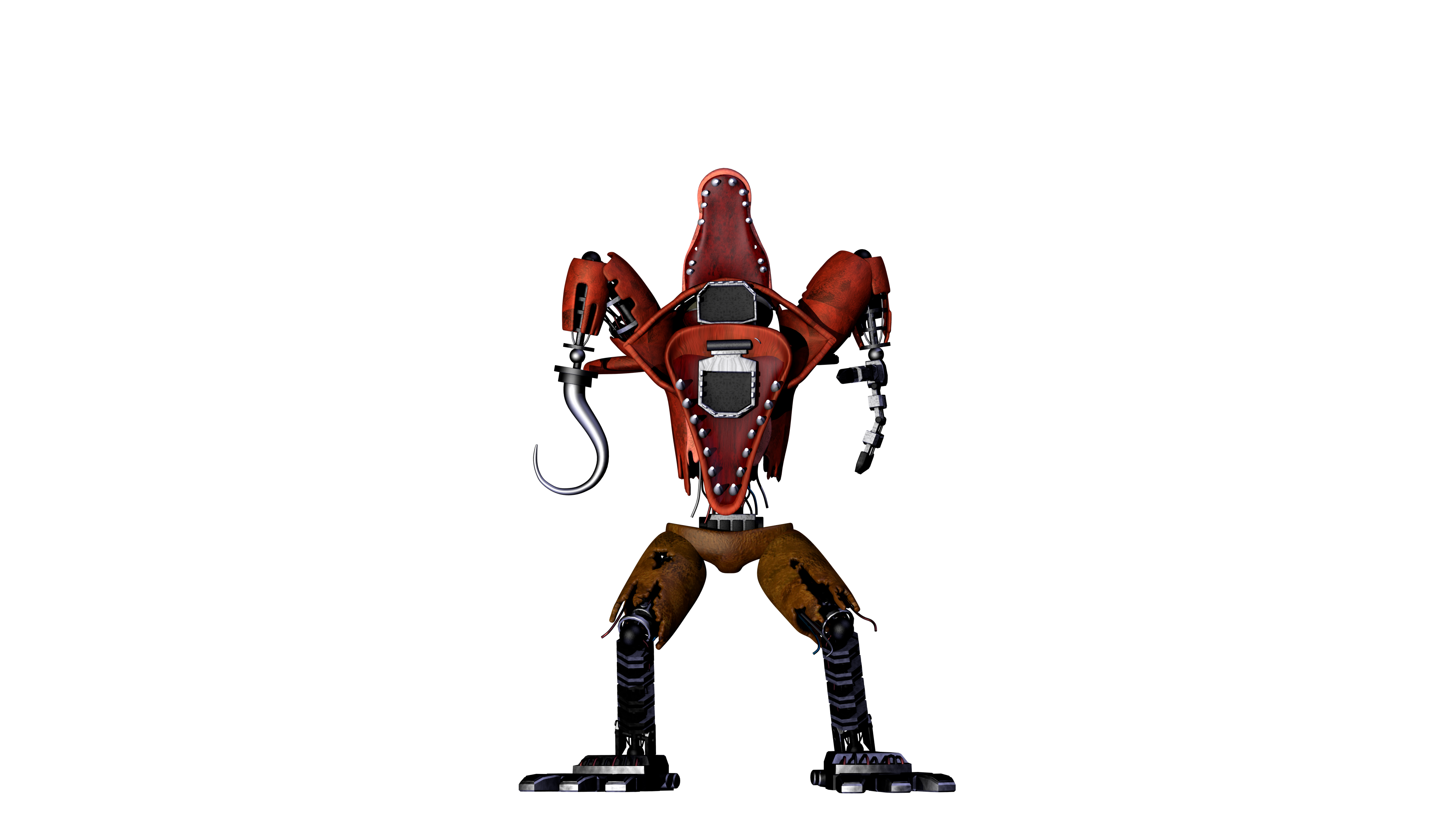 Transparent fnaf animatronic. Withered animatronics renders album