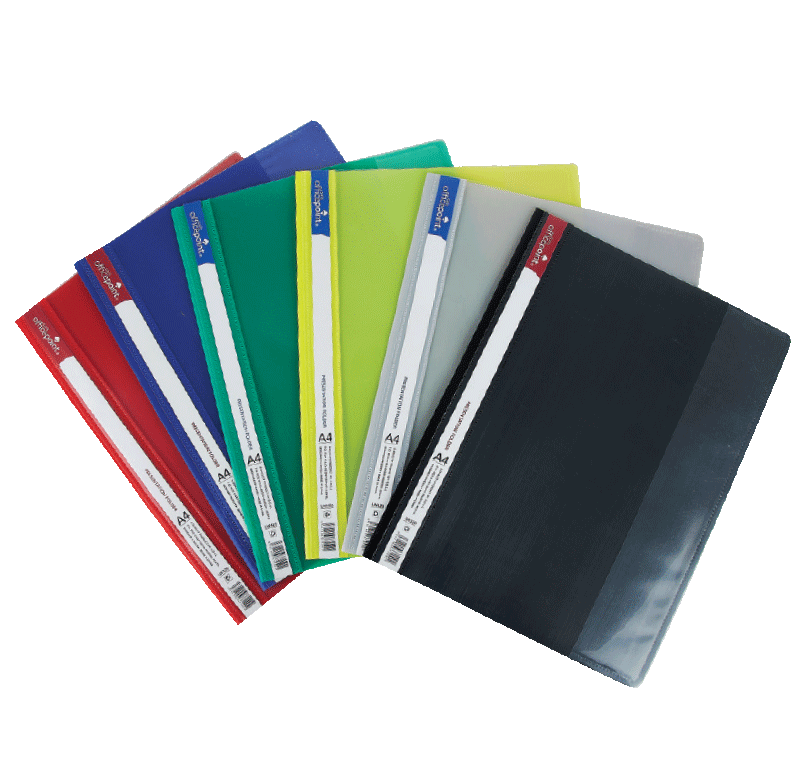 Transparent folders interview visa. Presentation folder lw series