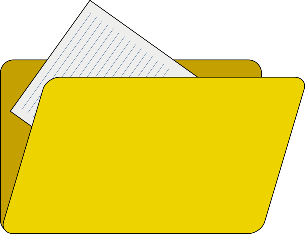 Clip directory manila. Computer icons file folders