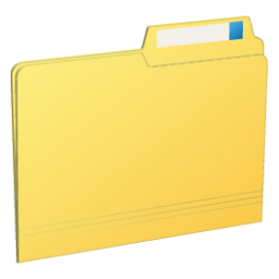 Transparent folders hard. Folder closed icon myiconfinder