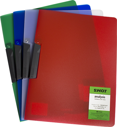 Clip folder stationery. Files and folders product