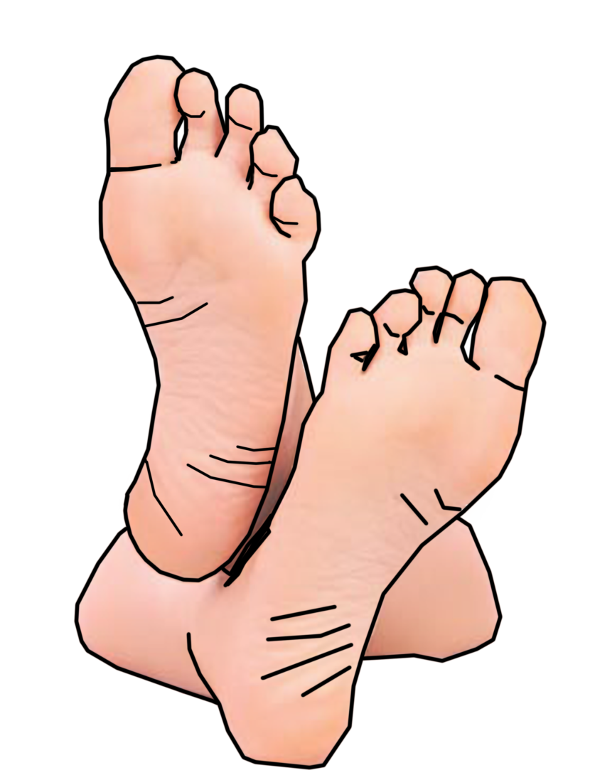 Transparent foot clip art. Footsteps clipart freeuse