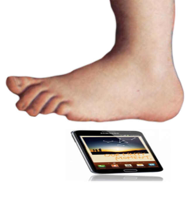 Transparent foot monty python. Hot flat and widescreen