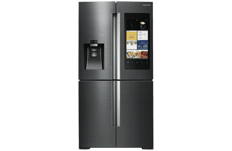 Fridge transparent convenience store. Buying guide the good