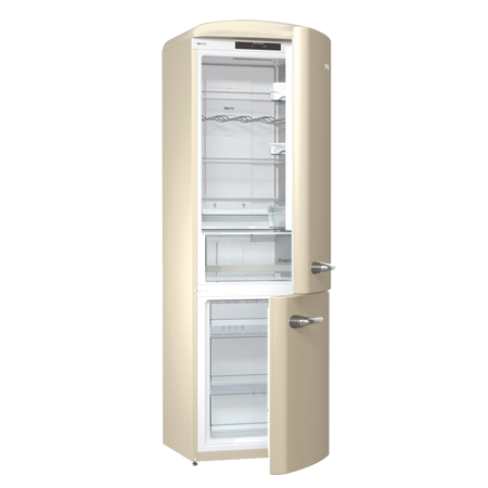 Transparent fridge retro. Gorenje onrk c collection