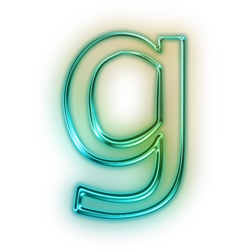Vector style graffiti letter. G icons png free