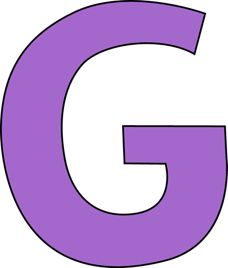 Transparent g big letter. Clipart
