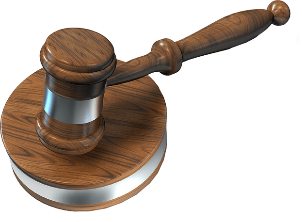 Auctioneers background . Transparent gavel picture freeuse stock