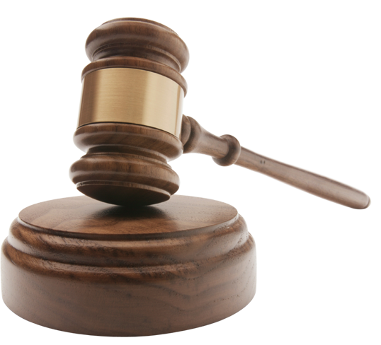 Transparent gavel meeting. Png images by a