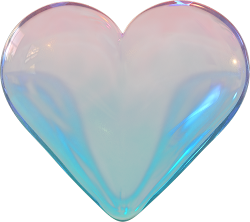 Transparent gem kawaii. Heart blue s png