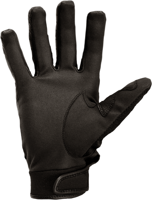 Transparent gloves background. Strongsuit