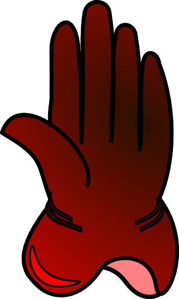 gloves clip art. Magician clipart glove vector free stock