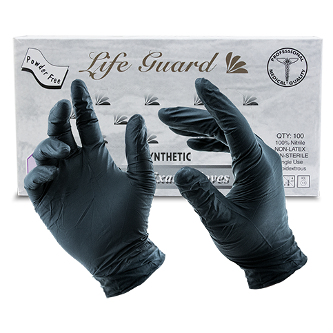 Transparent gloves food handling. Lifeguard bbq big poppa