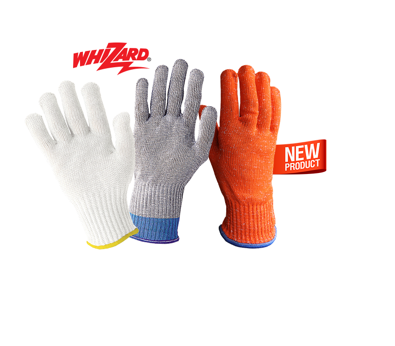 Transparent gloves food handling. Tucker safety personal protective