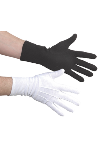 transparent gloves long