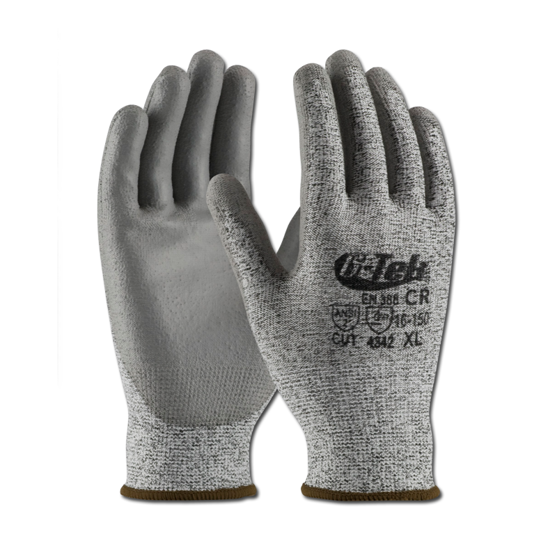 Transparent gloves safety. Hand protection frham products