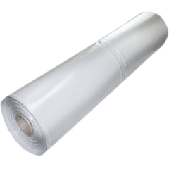 Transparent piping clear plastic. Sheeting rolls cwc