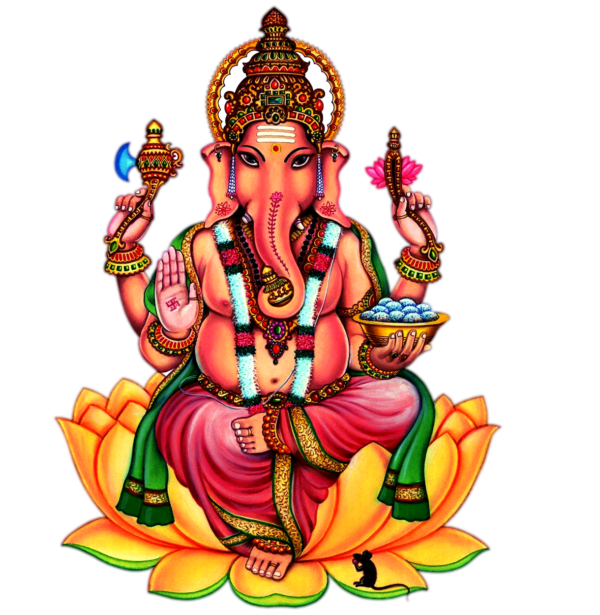 Transparent god ganapathi. Ganesh png images backgound