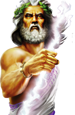 Transparent god greek. Zeus was the equivalent