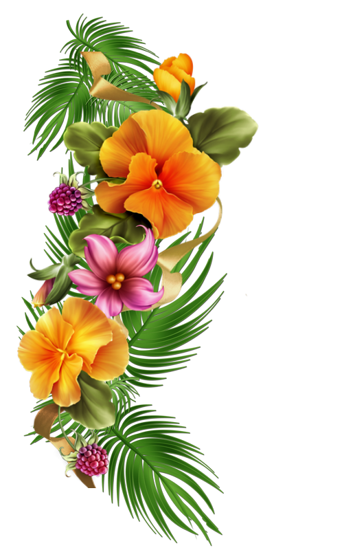 Transparent grave flower clipart. C f d