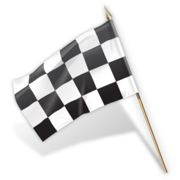 Transparent gray checkered. Icon flag free icons