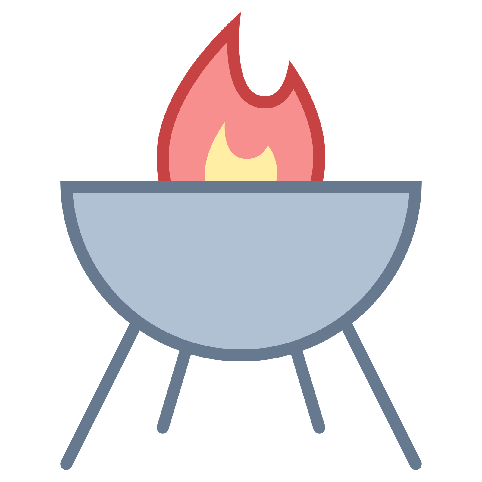 Transparent grill circle. Clipart free download on