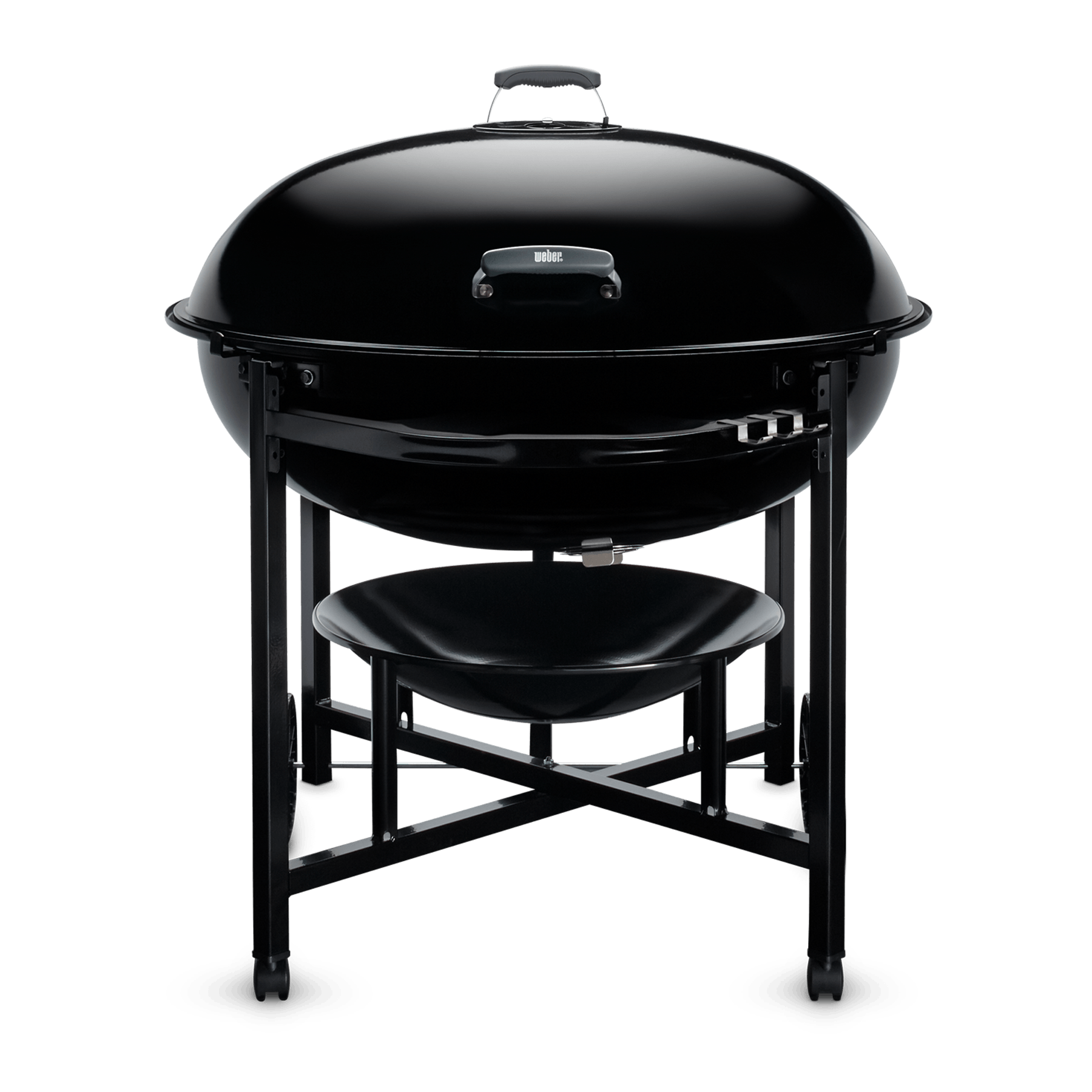 Transparent grill drum. Weber ranch kettle charcoal