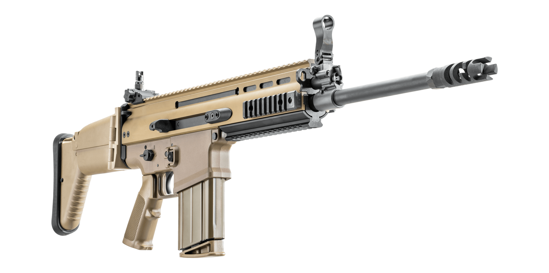 Transparent guns scar. Fn s