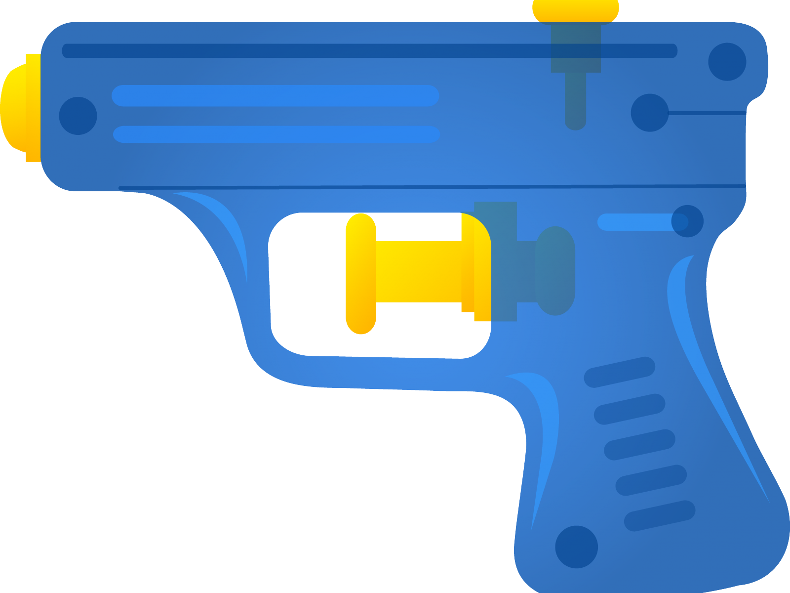 Transparent guns water. Clipart free library