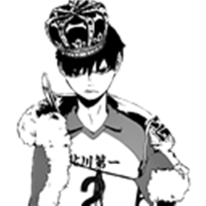Transparent haikyuu. King of the court
