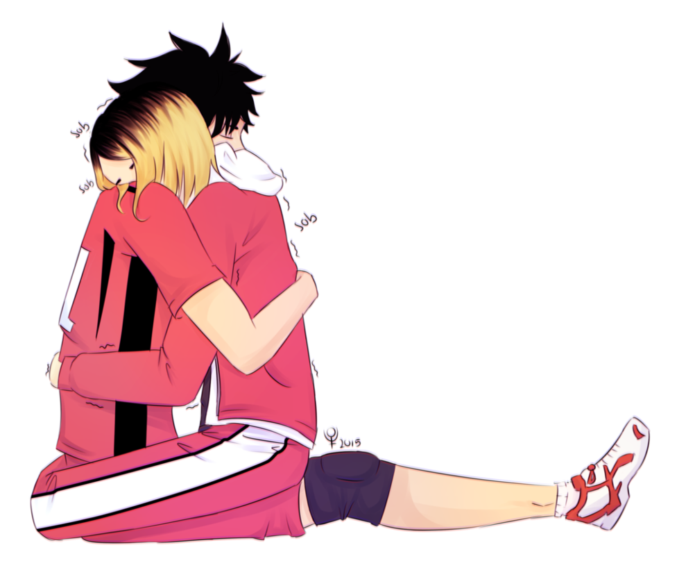 Transparent haikyuu kuroken. By sophiealexer on deviantart