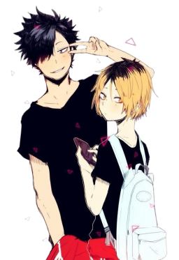 Transparent haikyuu kuroken. Avatan plus pinterest kuroo