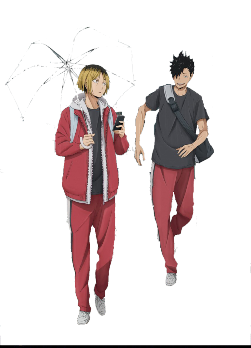 Transparent haikyuu kuroken. Oikawa is my aesthetic