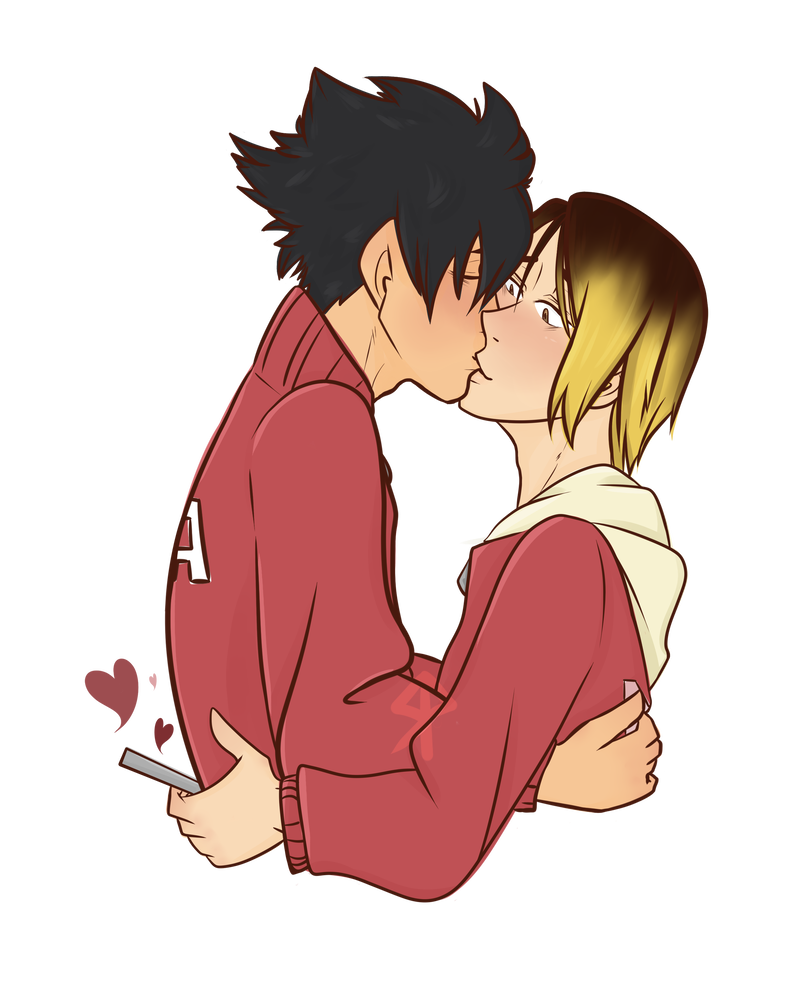 Transparent haikyuu kuroken. By taciturnghost on deviantart