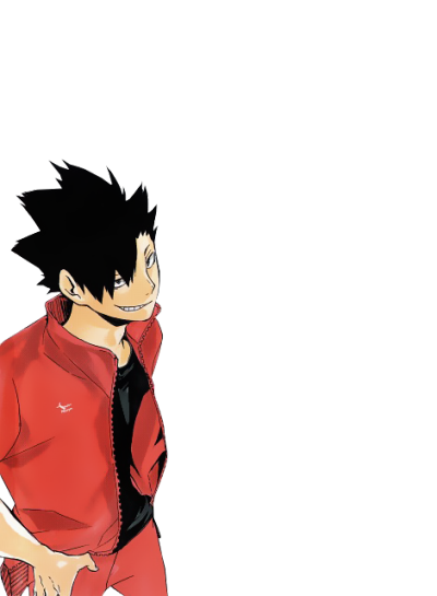 Transparent haikyuu kuroo tetsurou. Animemangapng renders manga anime