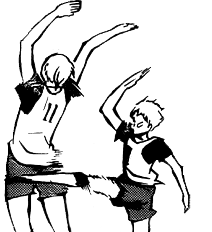 Transparent haikyuu lev. When i m with
