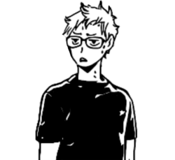 Transparent haikyuu tsukishima kei. Transparents tumblr