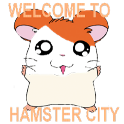 Transparent hamster. Welcome to city roblox