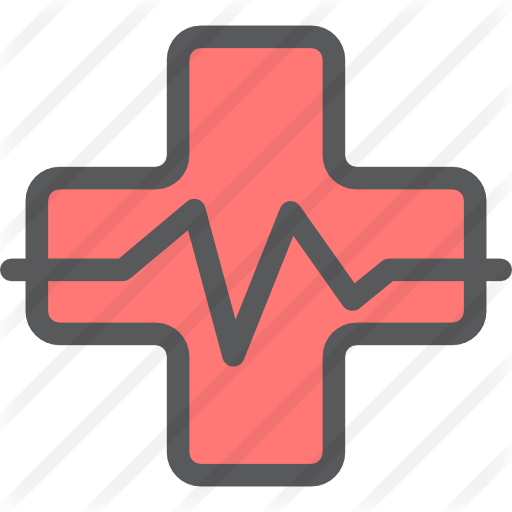 Transparent healthcare red. Hospital free medical icons