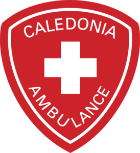 Transparent healthcare red. Caledonia ambulance joins chs
