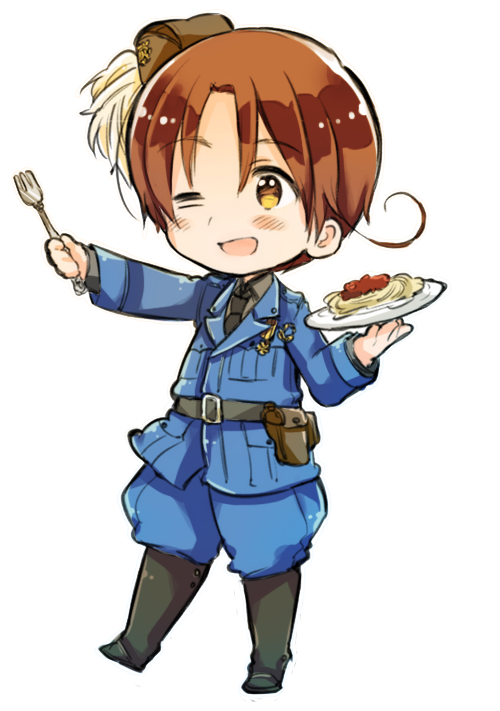 Transparent hetalia anime. Aph italy by scarfboyfriends