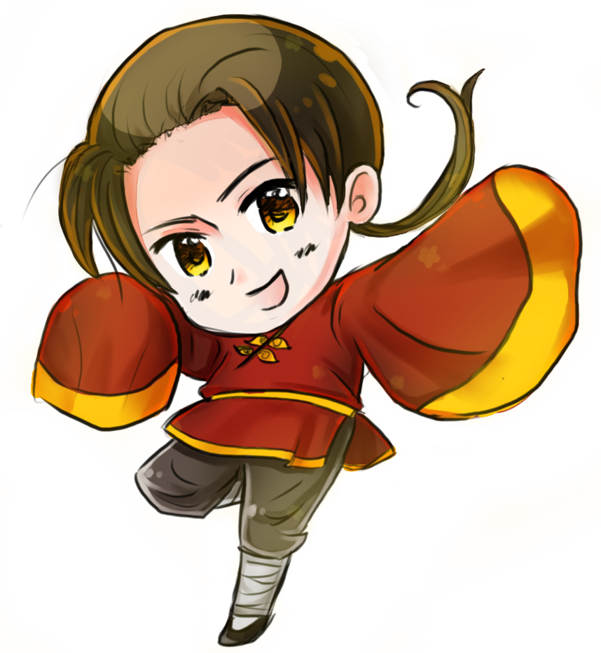 Fencing drawing hetalia. Transparent china by nessiemccormick
