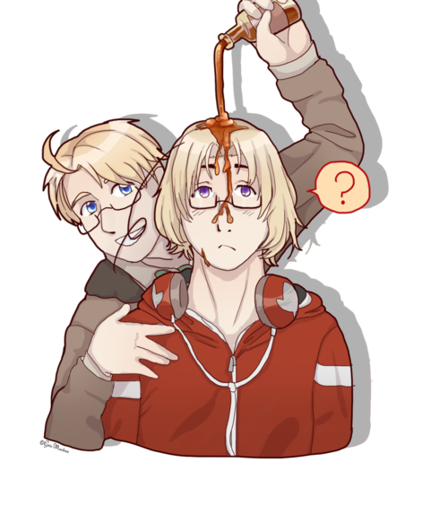 Transparent hetalia canada. Pouring maple syrup on