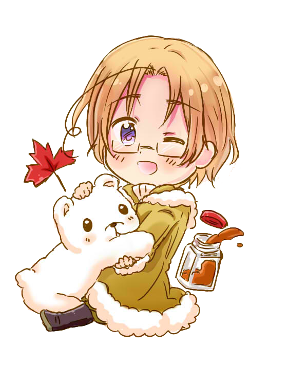 Transparent hetalia canada. Render by beacliffxrd on