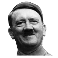 Transparent hitler portrait. Png in high resolution